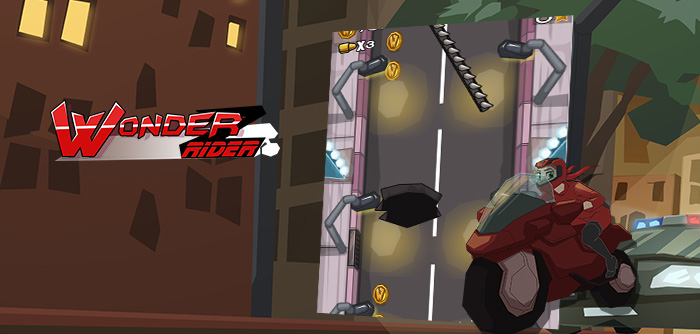 Zoe embarks on a new adventure and must avoid obstacles in New York on her motorcycle