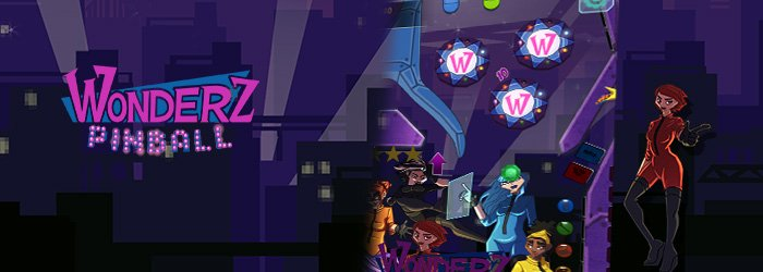 The Wonderz take you into their world with this very nice pinball game!