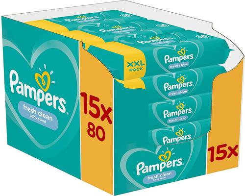 une Lingette Pampers Fresh Clean