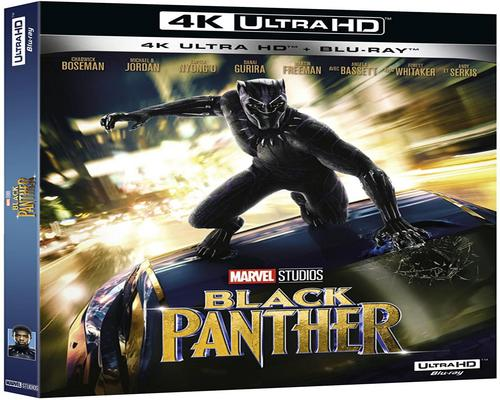 un Film Black Panther 4K Ultra Hd + Blu-Ray 2D - Marvel [4K Ultra Hd + Blu-Ray]
