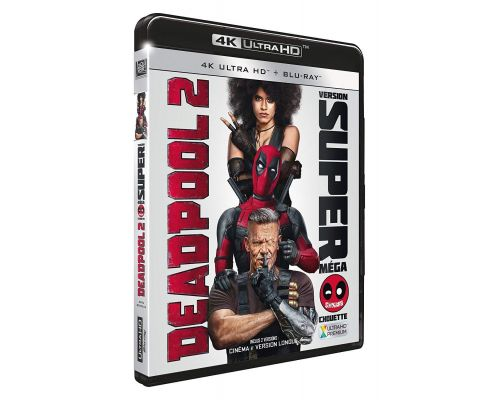 Un Blu Ray Deadpool 2