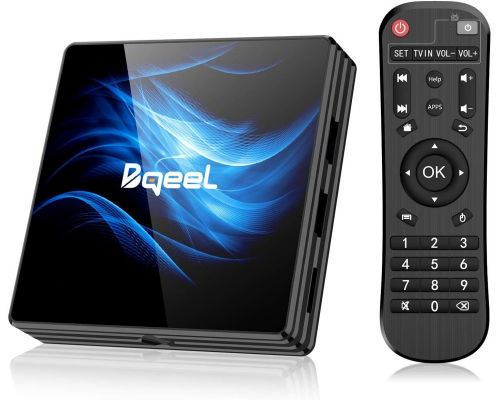 Une Box TV Android 10.0
