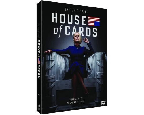 Un Coffret DVD House of Cards - Saison 6