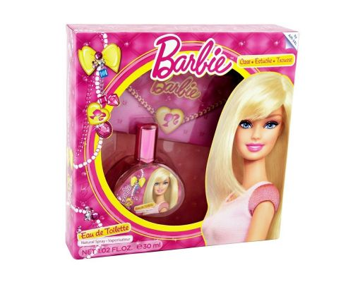Un Coffret Eau de Toilette Barbie