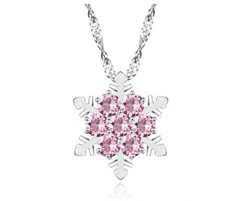 Un Collier Frozen Rose