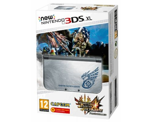 A New Nintendo 3DS XL Monster Hunter 4 Ultimate Console