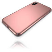 Une Coque iPhone XS Max Rose Or