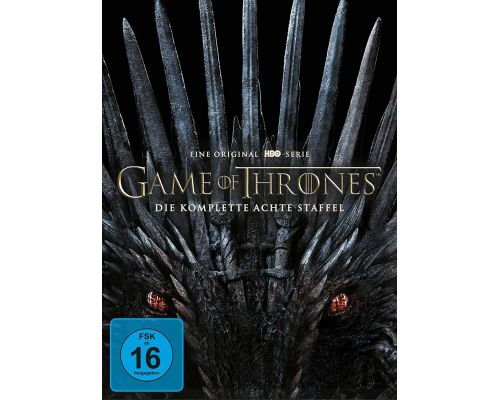 Ein DVD-Box-Set Game of Thrones - Staffel 8