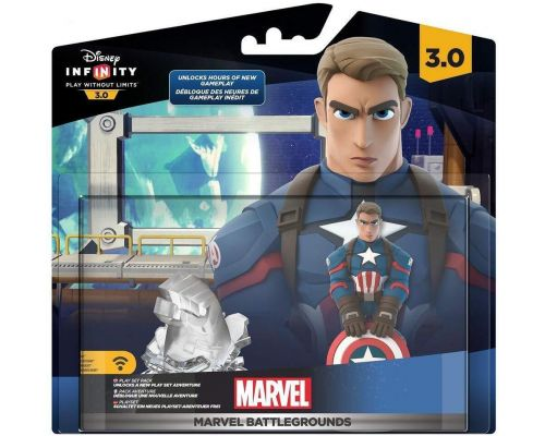 Une Figurine Disney Infinity 3.0 - Pack Aventure : Marvel Battlegrounds