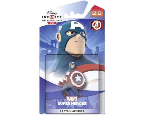 Une Figurine Disney Infinity 2.0 Marvel : Captain America