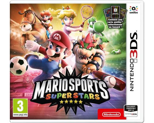 A 3DS Mario Sports Superstars Game + 1 amiibo card