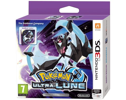 Un Jeu Nintendo 3DS Pokémon Ultra Lune  Edition Collector