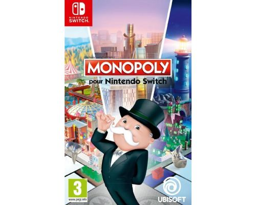 A Nintendo Switch Monopoly Game