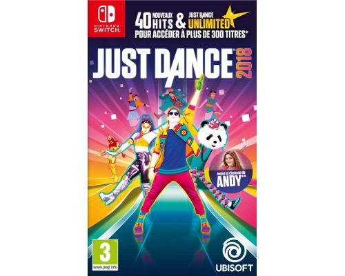 Un Jeu Nintendo Switch Just Dance 2018