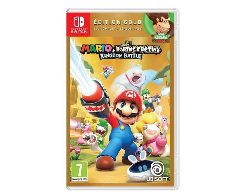 Un Jeu Nintendo Switch Mario + The Lapins Crétins Kingdom Battle