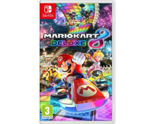 A Mario Kart 8 Deluxe Switch Game