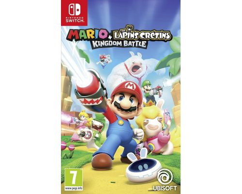 A Mario + The Raving Rabbids game: Kingdom Battle for Switch