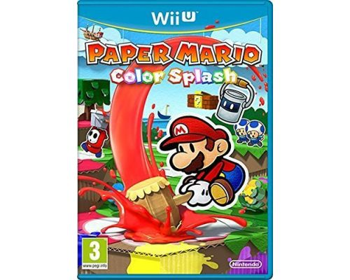 A Mario Paper: Color Splash game for Wii U
