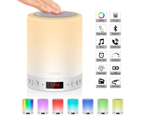 Une Lampe de Chevet LED Touch                                                                                                       +