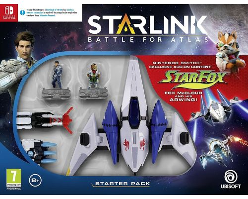 Un Pack de Demarrage pour Nintendo Switch Starlink