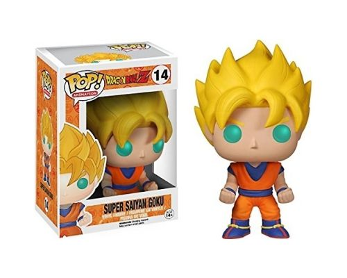 a Dargon Ball Z Sangoku Pop Figurine