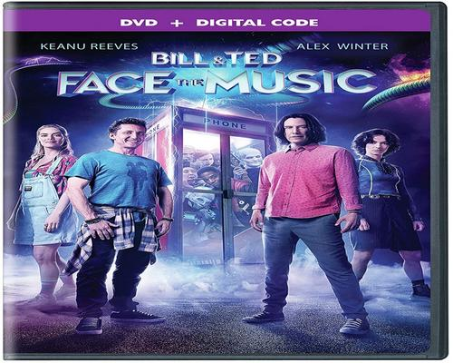 a Movie Bill & Ted Face The Music (Dvd + Digital) (Dvd)