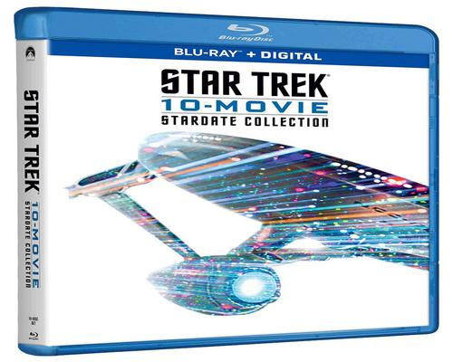 a Movie Star Trek 10-Movie Stardate Collection (Blu-Ray + Digital)