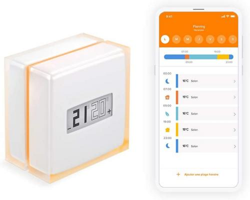 a Netatmo Connected And Smart Thermostat For Individual Boilers