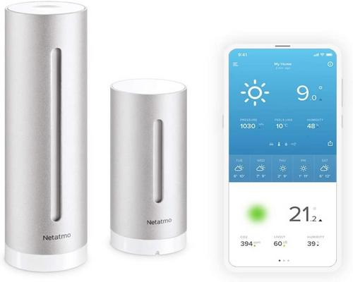 a Netatmo Indoor Outdoor Connected Wifi Station