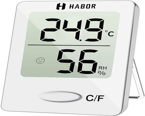 ένα Habor Mini Indoor Digital High Precision Thermometer