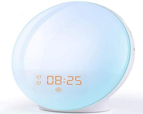 A Morning Alarm Clock With Effects With 20 Programmable Brightness Alarms
