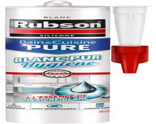 ein Rubson Bath & Kitchen Putty Pure White Hygiene