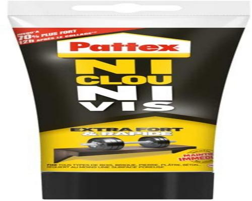 клей Pattex Ni Clou Ni Vis Extra Strong & Fast