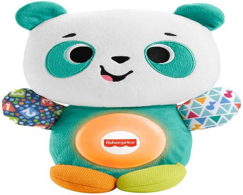 a Fisher-Price Linkimals Andrea The Panda Toy