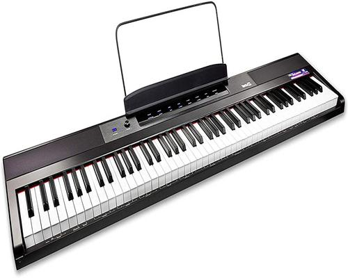 a Rockjam 88 Keyboard