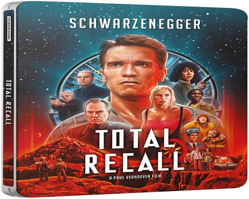a Dvd Total Recall Steelbook [Blu-Ray] [2020]