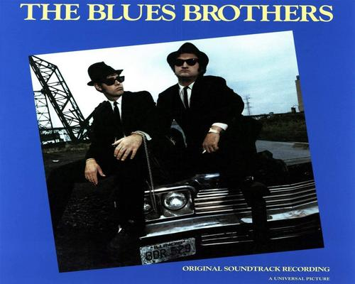 uno Cd The Blues Brothers (Vinyl Blue)