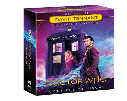 una Serie Cofanetto Doctor Who: David Tennant (Stag. 2-3-4 + The Specials) (23 Dvd) (23 Dvd)