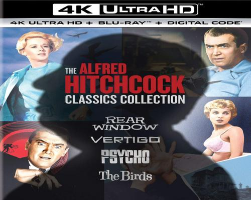 a Movie The Alfred Hitchcock Classics Collection [Blu-Ray]