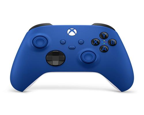 a Set Of Accessory Xbox Wireless Controller - Shock Blue