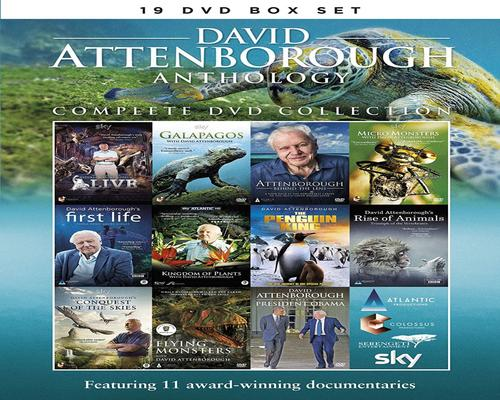 a Dvd David Attenborough Anthology - Complete Dvd Collection