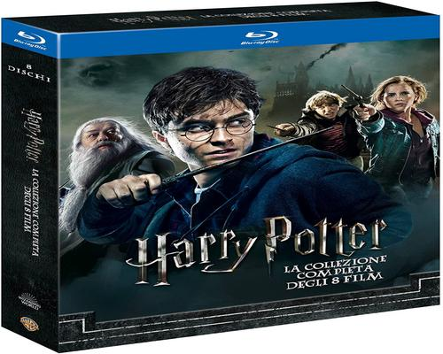 uno Film Harry Potter Collection (Standard Edition) (8 Blu-Ray)
