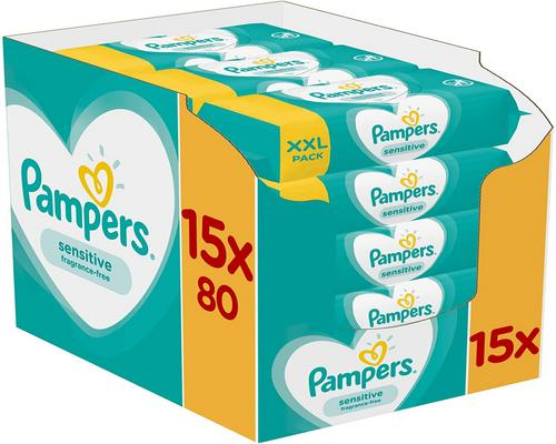 a Pampers Sensitive Wipe