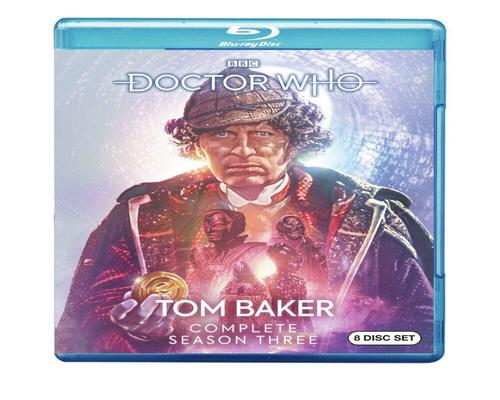 a Movie Doctor Who: Tom Baker Complete Season Three (Blu-Ray)