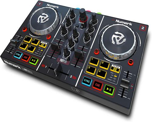 a Numark Party Mix Dj Equipment