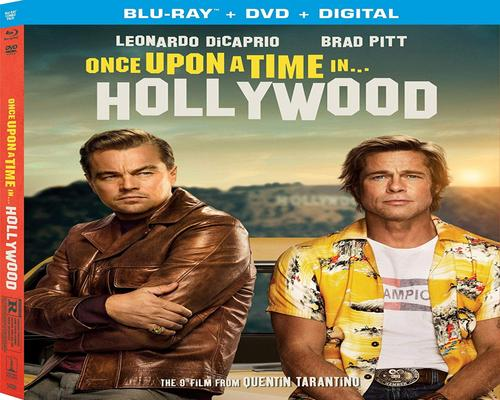a Movie Once Upon A Time In Hollywood [Blu-Ray]