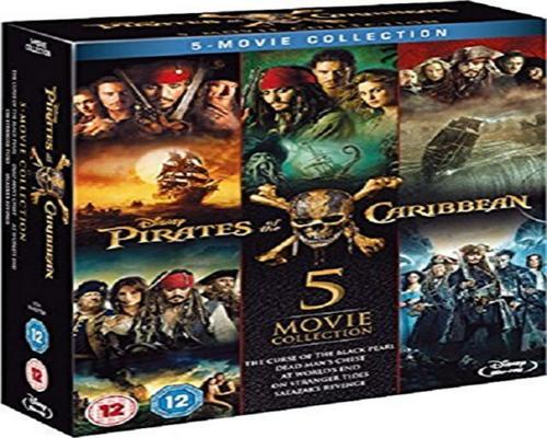 a Movie Pirates Of The Caribbean - Complete Collection [Blu-Ray]
