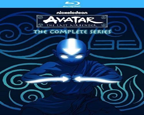 a Movie Avatar - The Last Airbender: The Complete Series [Blu-Ray] (9 Discs In 1 Box)