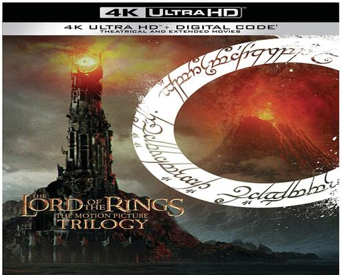 a Movie Lord Of The Rings, The: Motion Picture Trilogy (Extended & Theatrical)(4K Ultra Hd + Digital) [Blu-Ray]