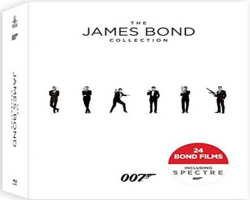 a Movie The James Bond Collection (Blu-Ray)